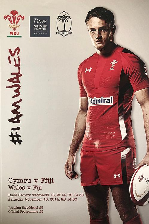 Wales v Fiji 15.11.2014