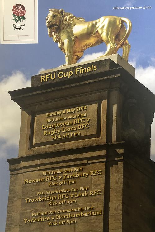 RFU Cup Finals 2014