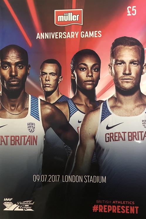 Muller Anniversary Games 2017