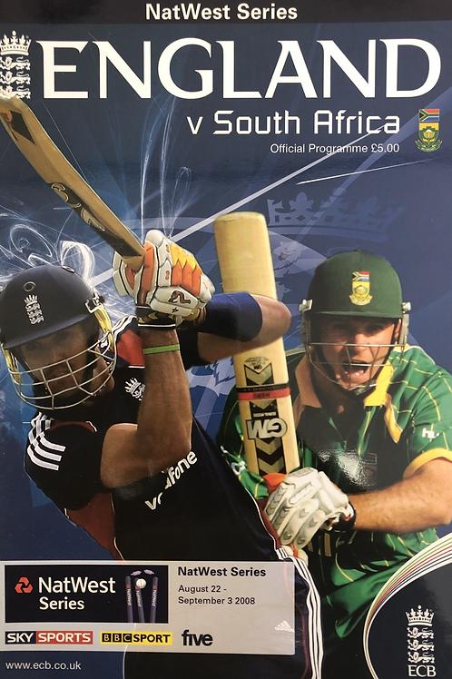 Natwest Series England v South Africa 2008