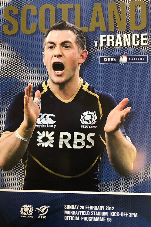 Scotland v France 26.02.2012