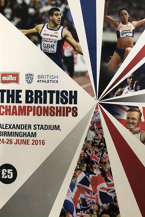 The British Championships 2016