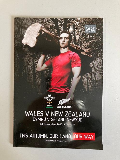 Wales v New Zealand 24/12/2012