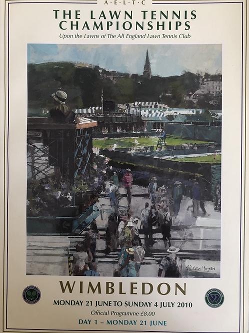 Wimbledon 2010 Day 1 Official Programme