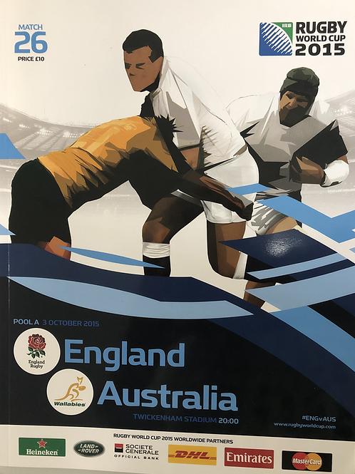 Rugby World Cup 2015 - England v Australia