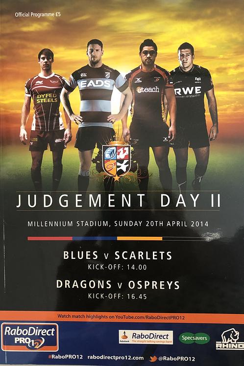 Judgement Day II 2014