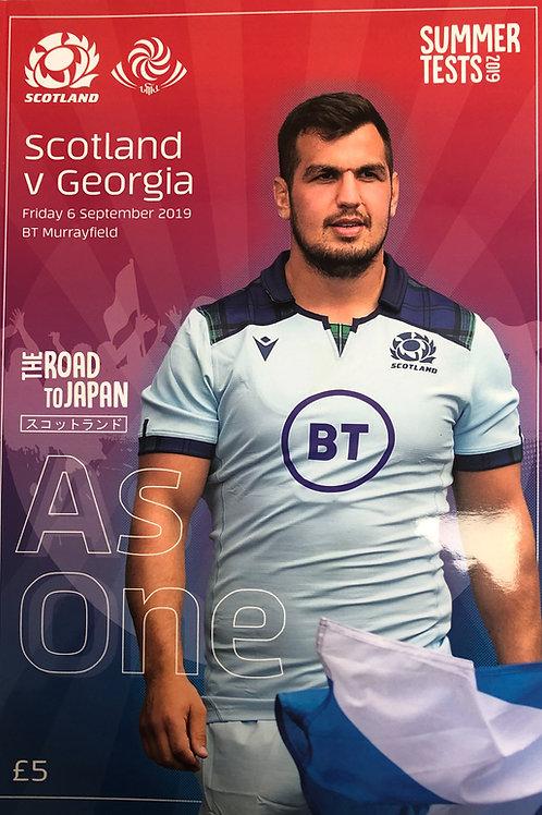 Scotland v Georgia 06.09.2019