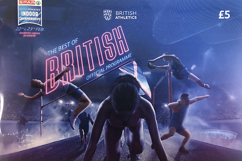 Spar British Athletics Indoor Championships 2020