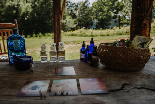 Card Readings at the Homestead