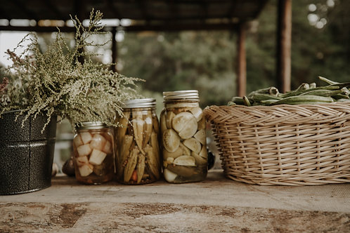 Pickled Produce ~ Pint Size