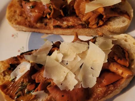 Chanterelle Mushroom Toast