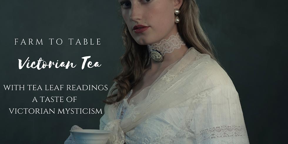 Victorian Tea & Tea Leaf Reading