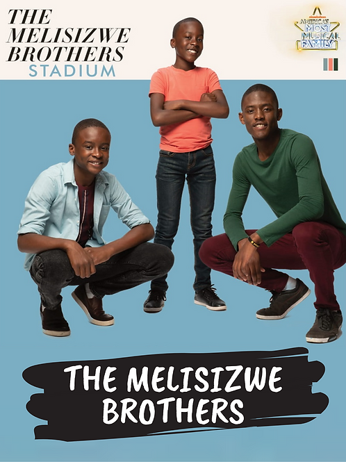 "The Melisizwe Brothers - Stadium Cover Poster 11""x17"""
