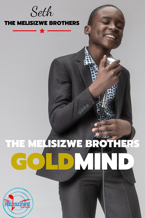 "Seth - Gold Mind Poster - 11"" x 17"""