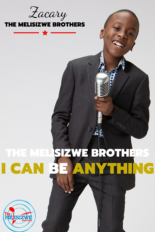 """Zacary - I Can Be Anything Poster - 11"""" x 17"""""""