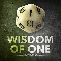 Wisdom of One D&D RPG Podcast Logo