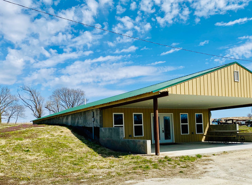 SALE PENDING!  1333 W Rd  Burr Oak, KS with 9 acres