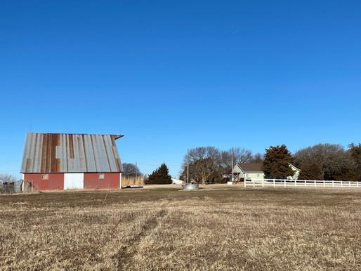 UNDER CONTRACT! 2461 Y Rd. on 16.5 acres near Lovewell Reservoir, Webber, KS