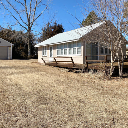 SOLD!!!  31 Cabin Rd.  Webber, KS  Lovewell Lake