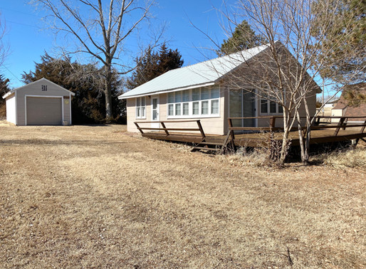 SOLD!!!  31 Cabin Rd.  Webber, KS  Lovewell Lake