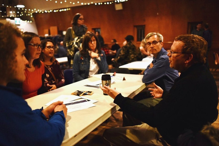 Networking and Climate Conversation
