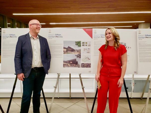 "Our imagine Sunalta HUB Project design won the ""Great City, Great Design"" award last year."