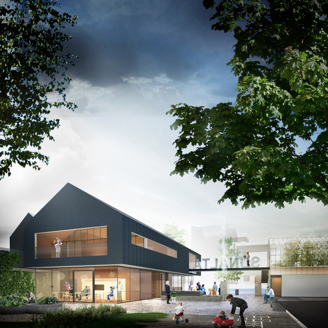 designed by the marc boutin architectural collaborative