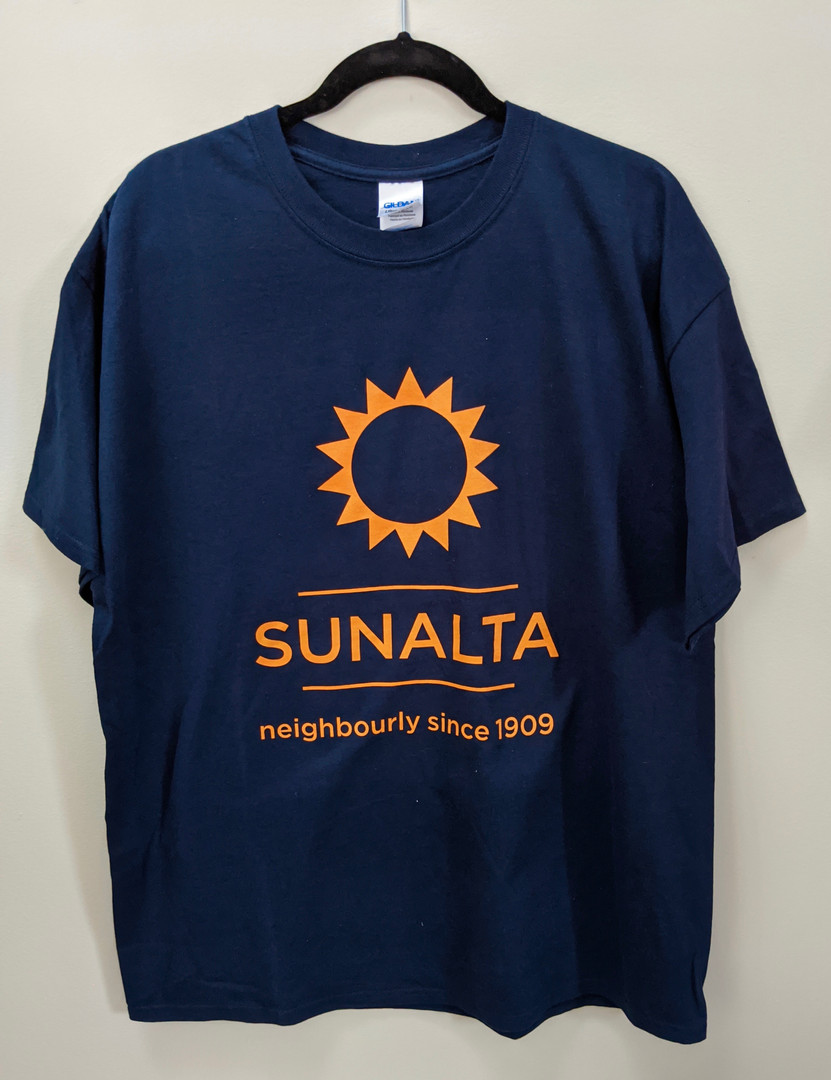 Navy Blue Sunalta Tee