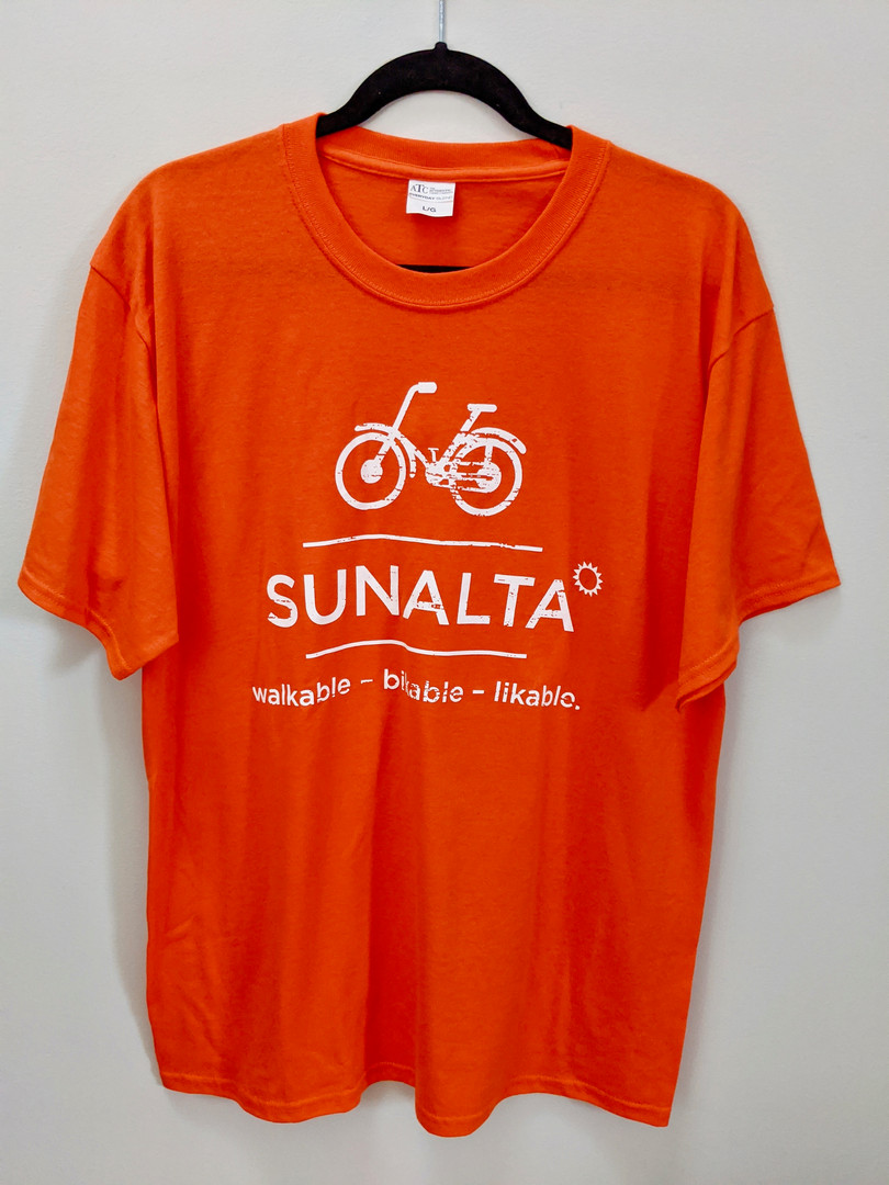Orange Sunalta Tee