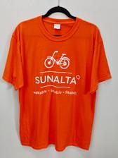 Orange Sunalta Tee