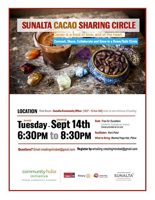 Cacao Sharing Circle Fall 2021 Poster.png