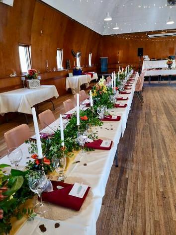 Main Hall Wedding