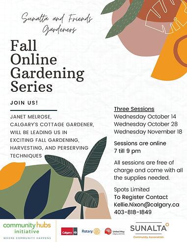 Fall Gardening Series - 2020 - Poster.jp