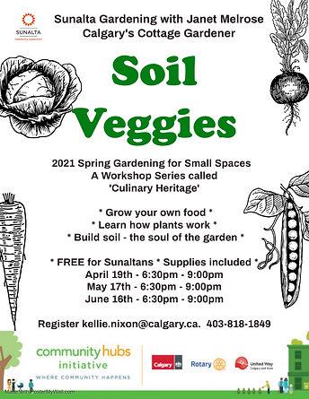 Janet Melrose 2021 Spring - Soil Veggies