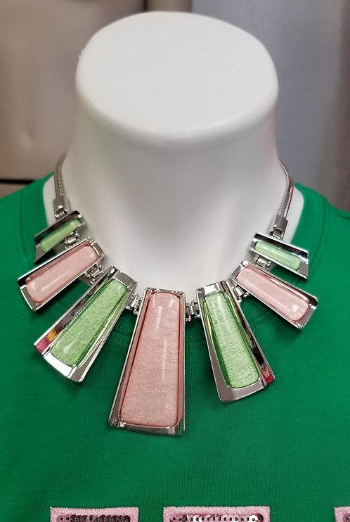 Bar Pink & Green