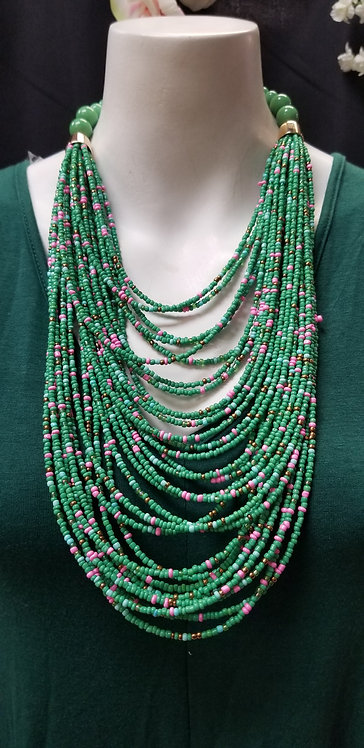 Seed Necklace Set