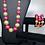 Thumbnail: Pink & Green Large Pearl Bracelet