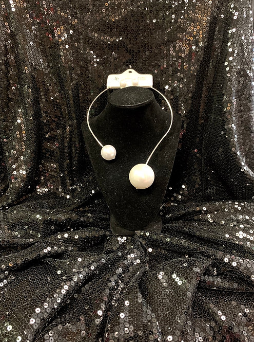 2 Pearl Wrap Necklace