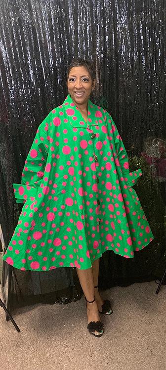 Polka Dot Tunic/Dress