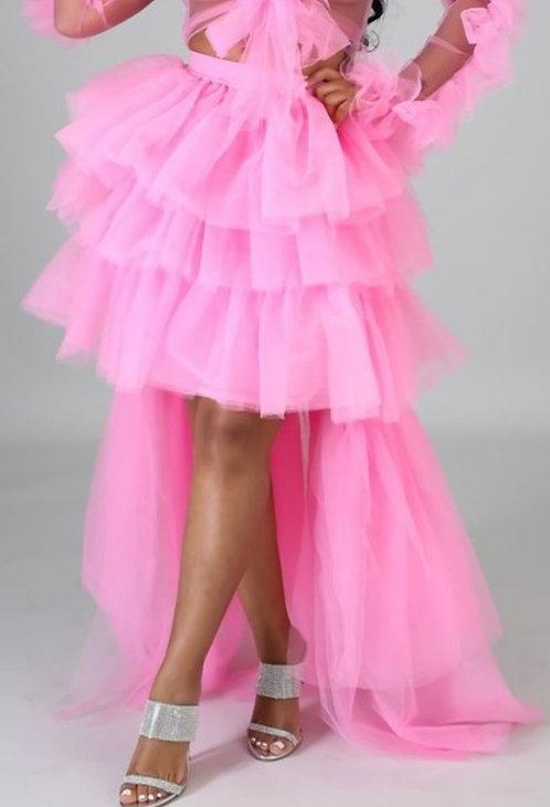Hi Lo Tulle Skirt