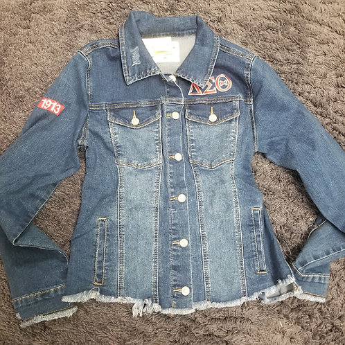DST Denim Jacket-Distressed