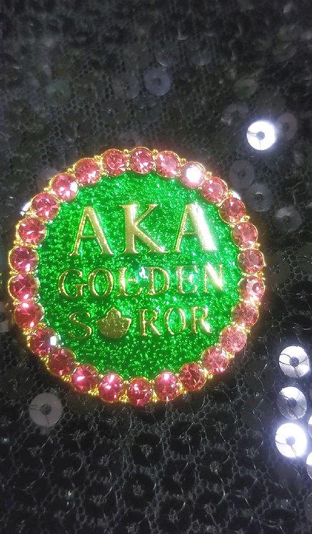 AKA Golden Star Brooch