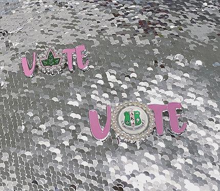 AKA Vote Pin