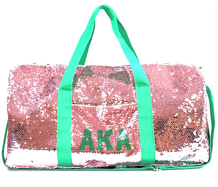 AKA Sequin Duffel Bag