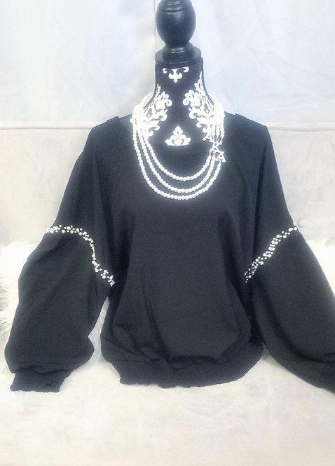 Black Pearl Blouse