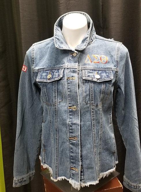 Distressed Denim Jacket DST