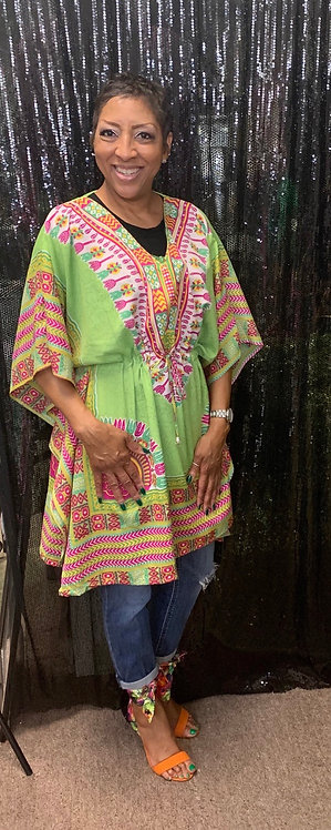 Print Tunic/Cover Up/Dress