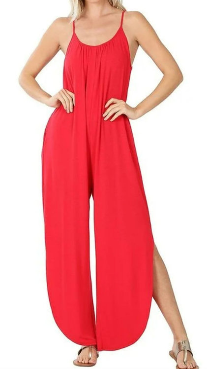 Jumper  Thin Strap -Red