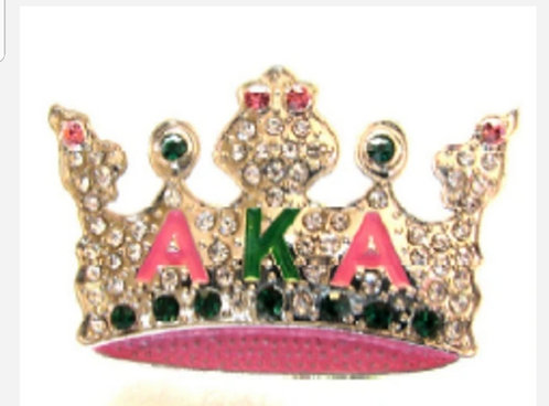 Rhinestone Crown AKA Brooch