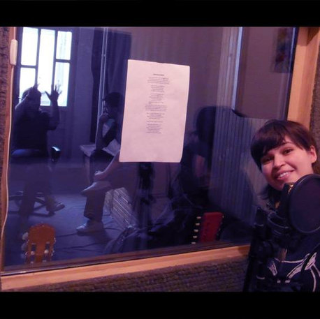 Fisrt vocal recording.jpg